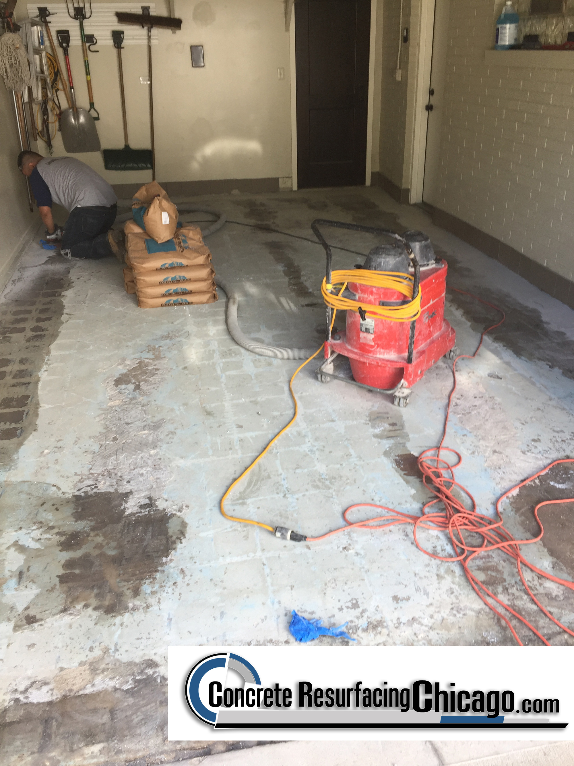 view floor special pitted resurfacing repair garage a make all look resurfacers concrete new masonry handyman like will fix pitflo family
