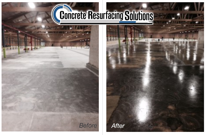 concrete resurfacing in Chicago for food and beverage facilities