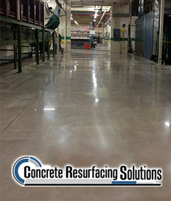 Concrete Resurfacing Solutions Chicago offers flake floors, durable and beautiful concrete