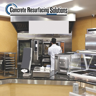 All parts of grocery stores can benefit from Concrete Resurfacing Solutions' ideas and expertise.