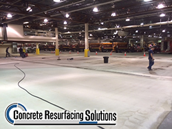 Concrete Resurfacing Solutions has HD Floor Systems with solid color sealing systems tailored to the demands of production floor.