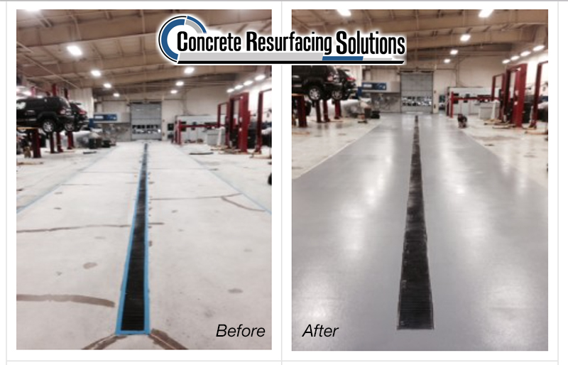 Real life examples of concrete resurfacing chicago in the manufacturing environment