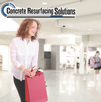 Concrete Resurfacing Solutions will give your retail stores and finished and professional appearance.