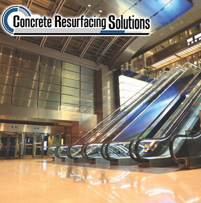 Concrete Resurfacing Solutions Chicago can make your retail facility sparkle with high performance and decorative flooring options.