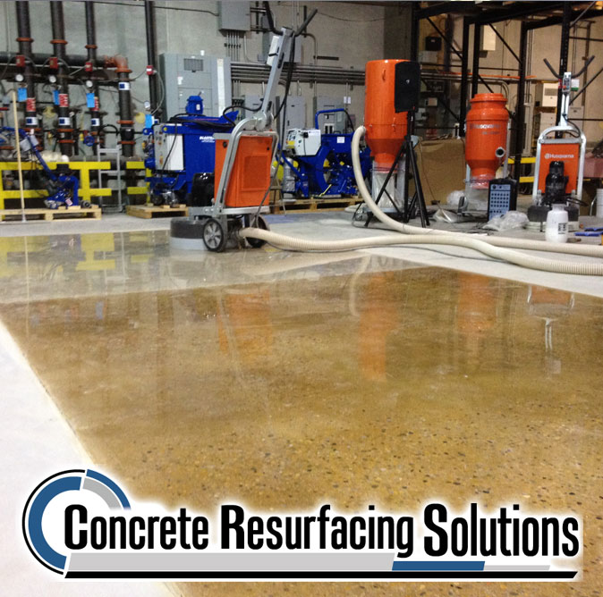 630-448-0317 Concrete Resurfacing Solutions, Inc. Flake